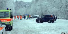 3. Der Unfall ereignete sich auf der A52 Höhe Grüningen